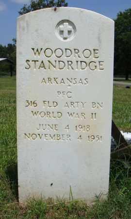 STANDRIDGE (VETERAN WWII), WOODROE - Pulaski County, Arkansas | WOODROE STANDRIDGE (VETERAN WWII) - Arkansas Gravestone Photos