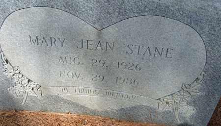 STANE, MARY JEAN - Pulaski County, Arkansas | MARY JEAN STANE - Arkansas Gravestone Photos