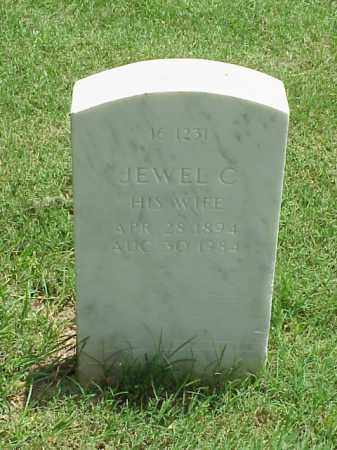 STANG, JEWEL C - Pulaski County, Arkansas | JEWEL C STANG - Arkansas Gravestone Photos