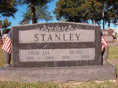 STANLEY, FRED LEE - Pulaski County, Arkansas   FRED LEE STANLEY - Arkansas Gravestone Photos