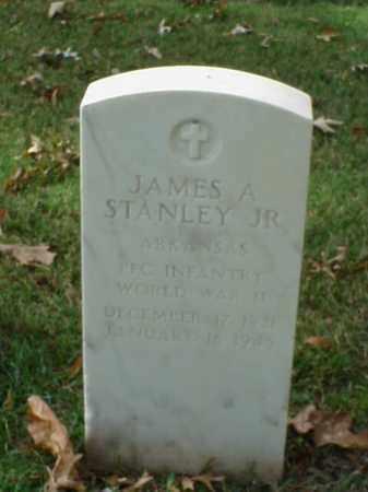 STANLEY, JR (VETERAN WWII), JAMES A - Pulaski County, Arkansas | JAMES A STANLEY, JR (VETERAN WWII) - Arkansas Gravestone Photos
