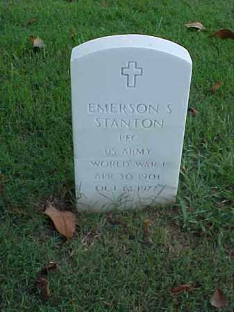 STANTON (VETERAN WWI), EMERSON S - Pulaski County, Arkansas | EMERSON S STANTON (VETERAN WWI) - Arkansas Gravestone Photos