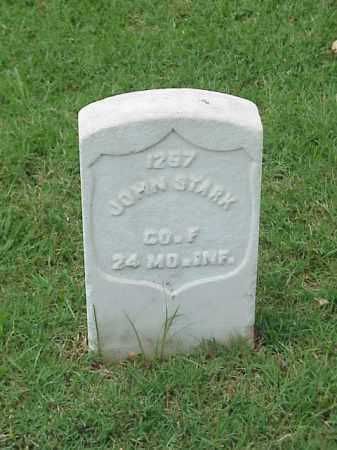 STARK (VETERAN UNION), JOHN - Pulaski County, Arkansas | JOHN STARK (VETERAN UNION) - Arkansas Gravestone Photos