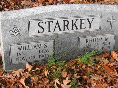 STARKEY, WILLIAM S - Pulaski County, Arkansas | WILLIAM S STARKEY - Arkansas Gravestone Photos