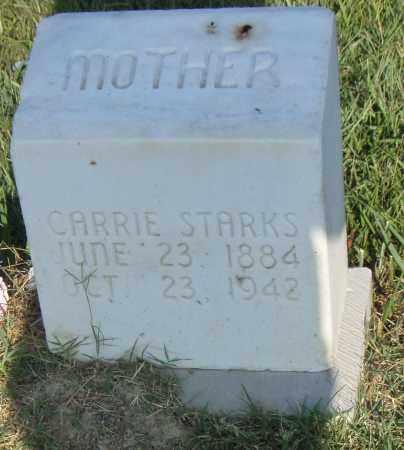 STARKS, CARRIE - Pulaski County, Arkansas | CARRIE STARKS - Arkansas Gravestone Photos