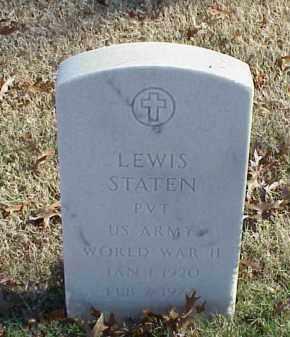 STATEN (VETERAN WWII), LEWIS - Pulaski County, Arkansas | LEWIS STATEN (VETERAN WWII) - Arkansas Gravestone Photos