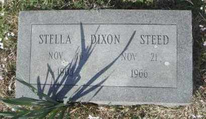 DIXON STEED, STELLA L - Pulaski County, Arkansas | STELLA L DIXON STEED - Arkansas Gravestone Photos