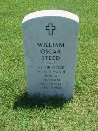 STEED (VETERAN 3 WARS), WILLIAM OSCAR - Pulaski County, Arkansas | WILLIAM OSCAR STEED (VETERAN 3 WARS) - Arkansas Gravestone Photos