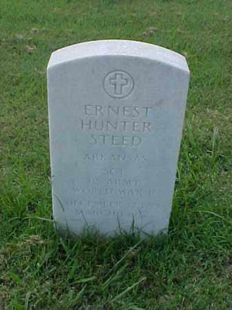 STEED (VETERAN WWII), ERNEST HUNTER - Pulaski County, Arkansas | ERNEST HUNTER STEED (VETERAN WWII) - Arkansas Gravestone Photos
