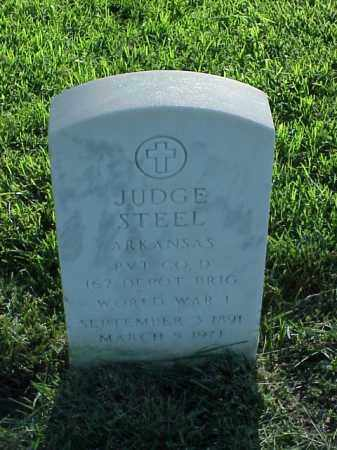 STEEL (VETERAN WWI), JUDGE - Pulaski County, Arkansas | JUDGE STEEL (VETERAN WWI) - Arkansas Gravestone Photos