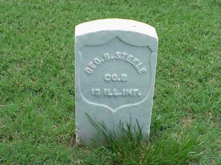 STEELE (VETERAN UNION), GEORGE B - Pulaski County, Arkansas | GEORGE B STEELE (VETERAN UNION) - Arkansas Gravestone Photos