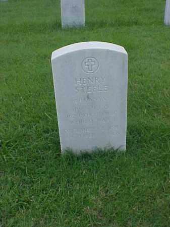 STEELE (VETERAN WWI), HENRY - Pulaski County, Arkansas   HENRY STEELE (VETERAN WWI) - Arkansas Gravestone Photos