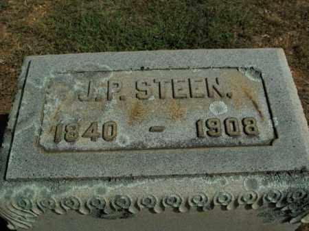 STEEN, J P - Pulaski County, Arkansas | J P STEEN - Arkansas Gravestone Photos
