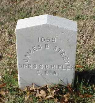 STEEN (VETERAN CSA), JAMES B - Pulaski County, Arkansas   JAMES B STEEN (VETERAN CSA) - Arkansas Gravestone Photos