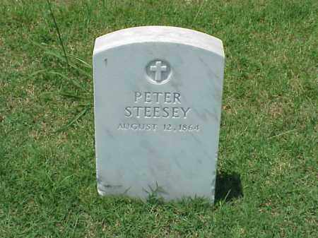 STEESEY (VETERAN UNION), PETER - Pulaski County, Arkansas | PETER STEESEY (VETERAN UNION) - Arkansas Gravestone Photos