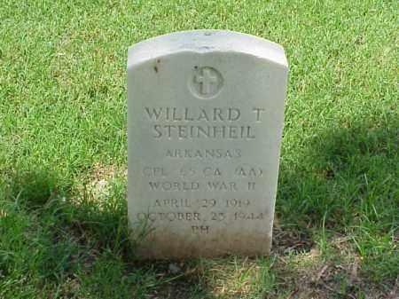 STEINHEIL (VETERAN WWII), WILLARD T - Pulaski County, Arkansas | WILLARD T STEINHEIL (VETERAN WWII) - Arkansas Gravestone Photos