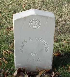 STEPHENS (VETERAN CSA), JAMES E - Pulaski County, Arkansas | JAMES E STEPHENS (VETERAN CSA) - Arkansas Gravestone Photos