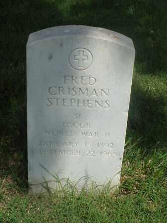 STEPHENS (VETERAN WWII), FRED CRISMAN - Pulaski County, Arkansas | FRED CRISMAN STEPHENS (VETERAN WWII) - Arkansas Gravestone Photos