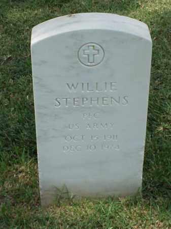 STEPHENS (VETERAN WWII), WILLIE - Pulaski County, Arkansas | WILLIE STEPHENS (VETERAN WWII) - Arkansas Gravestone Photos