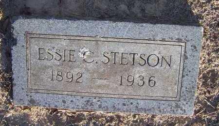 STETSON, ESSIE C. - Pulaski County, Arkansas | ESSIE C. STETSON - Arkansas Gravestone Photos