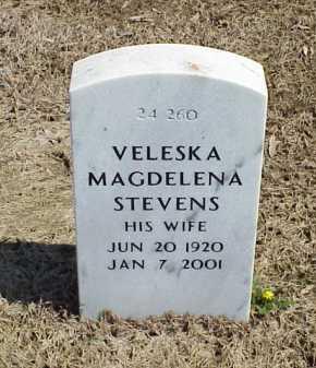 STEVENS, VELESKA MAGDELENA - Pulaski County, Arkansas | VELESKA MAGDELENA STEVENS - Arkansas Gravestone Photos