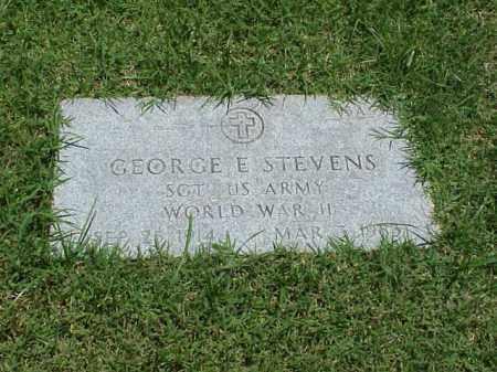 STEVENS (VETERAN WWII), GEORGE E - Pulaski County, Arkansas | GEORGE E STEVENS (VETERAN WWII) - Arkansas Gravestone Photos