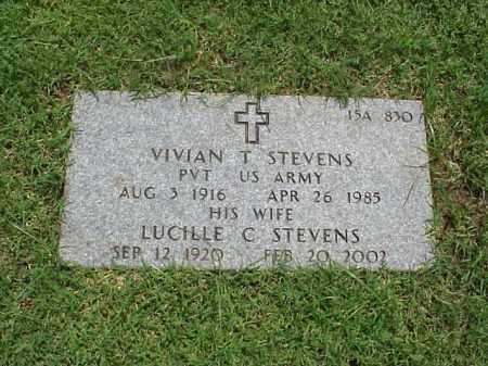 STEVENS, LUCILLE C - Pulaski County, Arkansas | LUCILLE C STEVENS - Arkansas Gravestone Photos