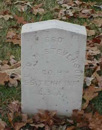 STEVENSON (VETERAN CSA), E D M - Pulaski County, Arkansas | E D M STEVENSON (VETERAN CSA) - Arkansas Gravestone Photos