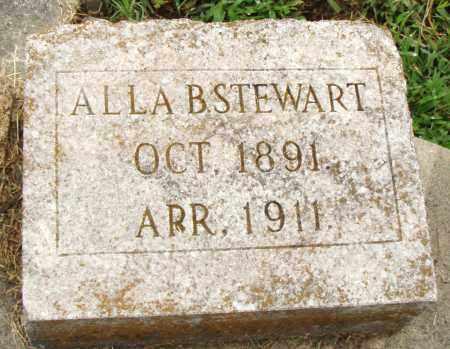 STEWART, ALLA B. - Pulaski County, Arkansas | ALLA B. STEWART - Arkansas Gravestone Photos
