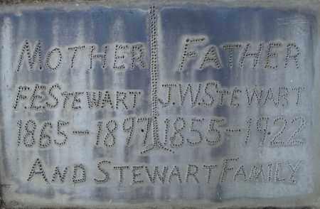 STEWART, F.E.(CLOSE UP) - Pulaski County, Arkansas | F.E.(CLOSE UP) STEWART - Arkansas Gravestone Photos