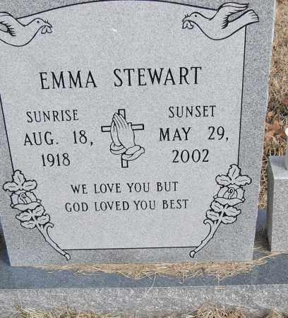 STEWART, EMMA - Pulaski County, Arkansas   EMMA STEWART - Arkansas Gravestone Photos