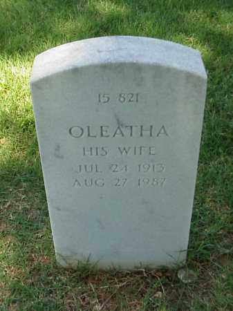 STEWART, OLEATHA - Pulaski County, Arkansas   OLEATHA STEWART - Arkansas Gravestone Photos
