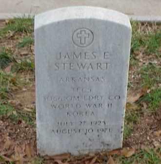 STEWART (VETERAN 2 WARS), JAMES EUGENE - Pulaski County, Arkansas   JAMES EUGENE STEWART (VETERAN 2 WARS) - Arkansas Gravestone Photos
