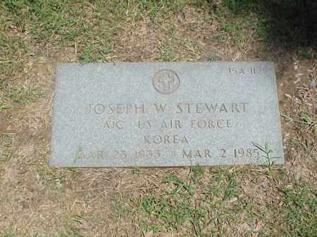 STEWART (VETERAN KOR), JOSEPH W - Pulaski County, Arkansas | JOSEPH W STEWART (VETERAN KOR) - Arkansas Gravestone Photos