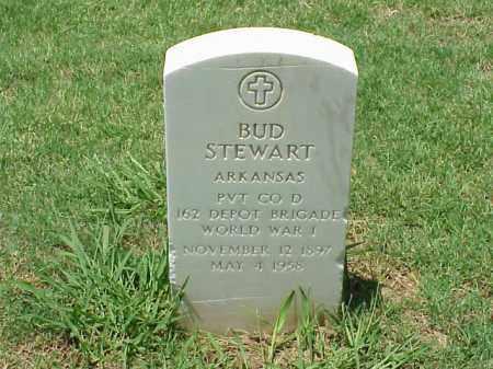 STEWART (VETERAN WWI), BUD - Pulaski County, Arkansas   BUD STEWART (VETERAN WWI) - Arkansas Gravestone Photos