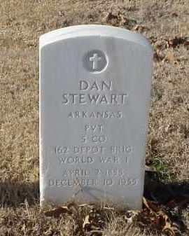 STEWART (VETERAN WWI), DAN - Pulaski County, Arkansas | DAN STEWART (VETERAN WWI) - Arkansas Gravestone Photos