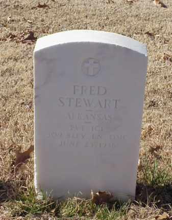 STEWART (VETERAN WWI), FRED - Pulaski County, Arkansas | FRED STEWART (VETERAN WWI) - Arkansas Gravestone Photos