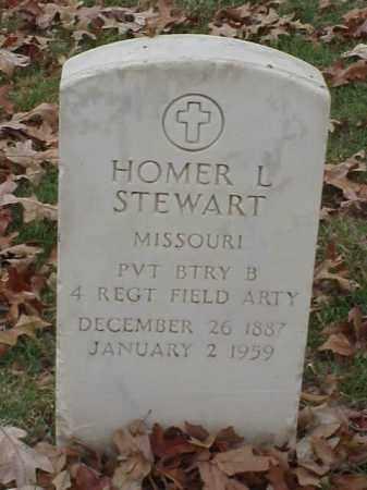 STEWART (VETERAN WWI), HOMER L - Pulaski County, Arkansas | HOMER L STEWART (VETERAN WWI) - Arkansas Gravestone Photos