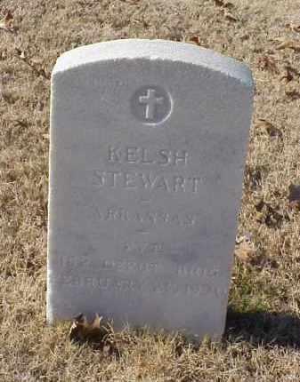 STEWART (VETERAN WWI), KELSH - Pulaski County, Arkansas | KELSH STEWART (VETERAN WWI) - Arkansas Gravestone Photos