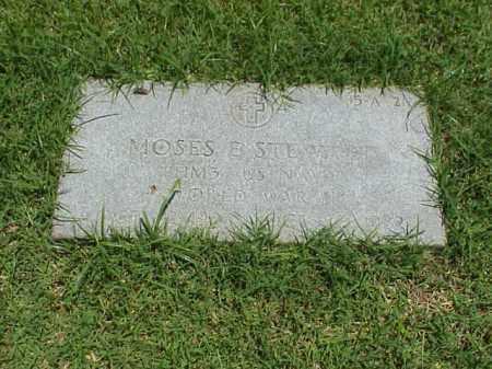 STEWART (VETERAN WWII), MOSES E - Pulaski County, Arkansas | MOSES E STEWART (VETERAN WWII) - Arkansas Gravestone Photos