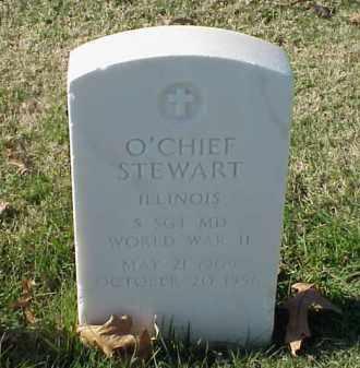 STEWART (VETERAN WWII), O'CHIEF - Pulaski County, Arkansas   O'CHIEF STEWART (VETERAN WWII) - Arkansas Gravestone Photos
