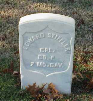 STIFFLER (VETERAN UNION), EDWARD - Pulaski County, Arkansas | EDWARD STIFFLER (VETERAN UNION) - Arkansas Gravestone Photos