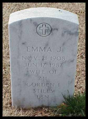 STILES, EMMA J - Pulaski County, Arkansas | EMMA J STILES - Arkansas Gravestone Photos