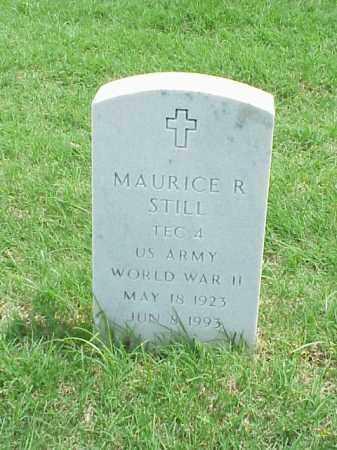 STILL (VETERAN WWII), MAURICE R - Pulaski County, Arkansas | MAURICE R STILL (VETERAN WWII) - Arkansas Gravestone Photos
