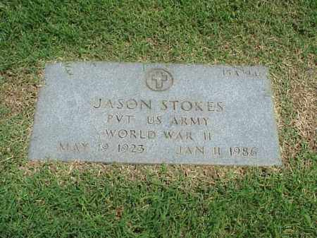 STOKES (VETERAN WWII), JASON - Pulaski County, Arkansas | JASON STOKES (VETERAN WWII) - Arkansas Gravestone Photos