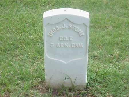 STONE (VETERAN UNION), THOMAS J - Pulaski County, Arkansas | THOMAS J STONE (VETERAN UNION) - Arkansas Gravestone Photos