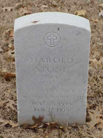 STONE (VETERAN 2 WARS), HAROLD - Pulaski County, Arkansas | HAROLD STONE (VETERAN 2 WARS) - Arkansas Gravestone Photos