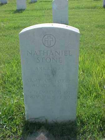 STONE (VETERAN WWII), NATHANIEL - Pulaski County, Arkansas   NATHANIEL STONE (VETERAN WWII) - Arkansas Gravestone Photos