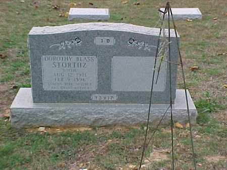 BLASS STORTHZ, DOROTHY - Pulaski County, Arkansas | DOROTHY BLASS STORTHZ - Arkansas Gravestone Photos