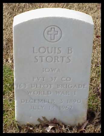 STORTS (VETERAN WWI), LOUIS B - Pulaski County, Arkansas   LOUIS B STORTS (VETERAN WWI) - Arkansas Gravestone Photos